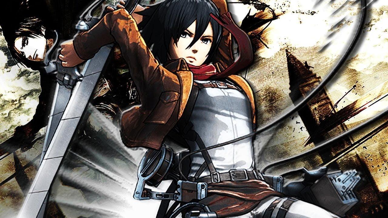 Mikasa Ackerman Sexy Anime Girls in Attack on Titan