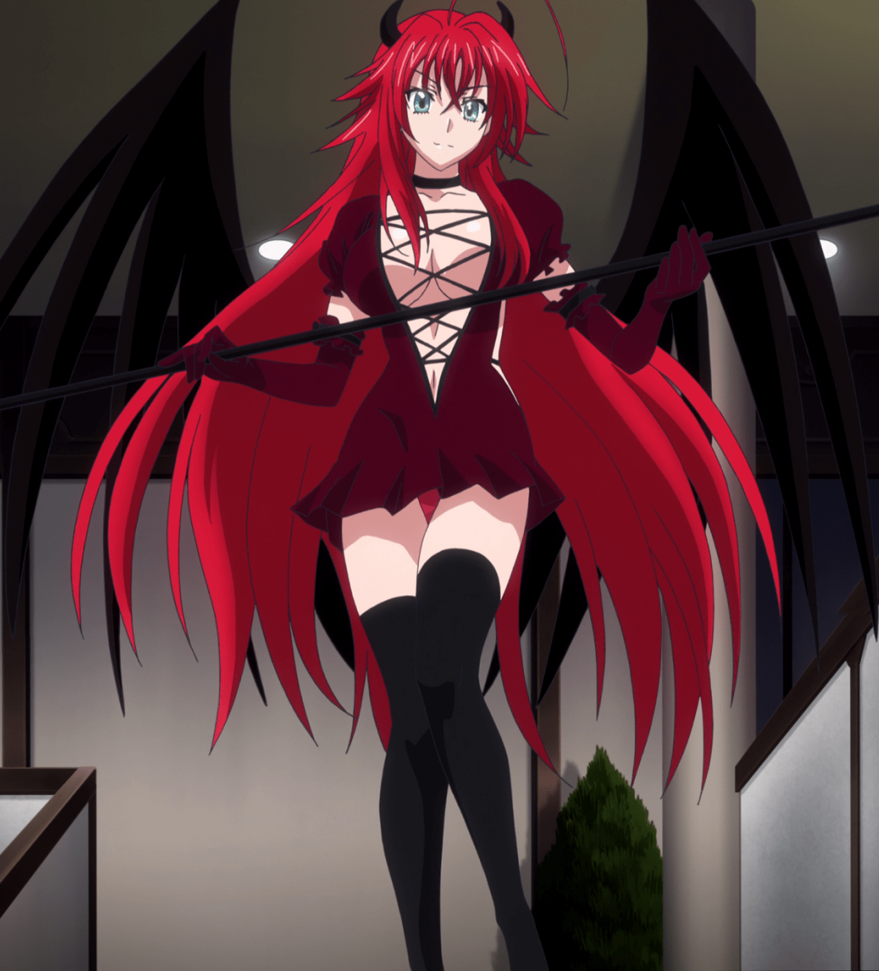 Rias Gremory Sexy Anime Girls in High School DxD