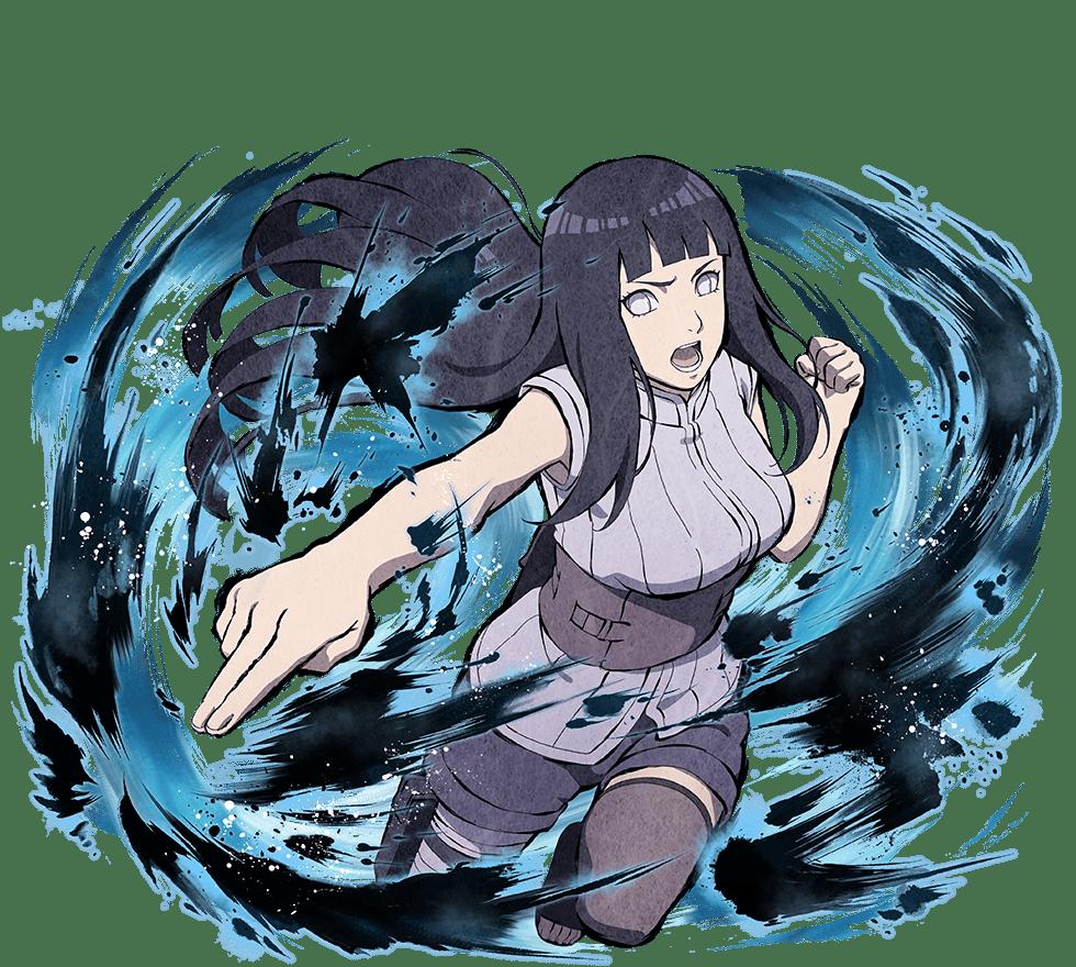 Hinata Hyuga Byakugan Princess Prettiest Anime Girl in Naruto