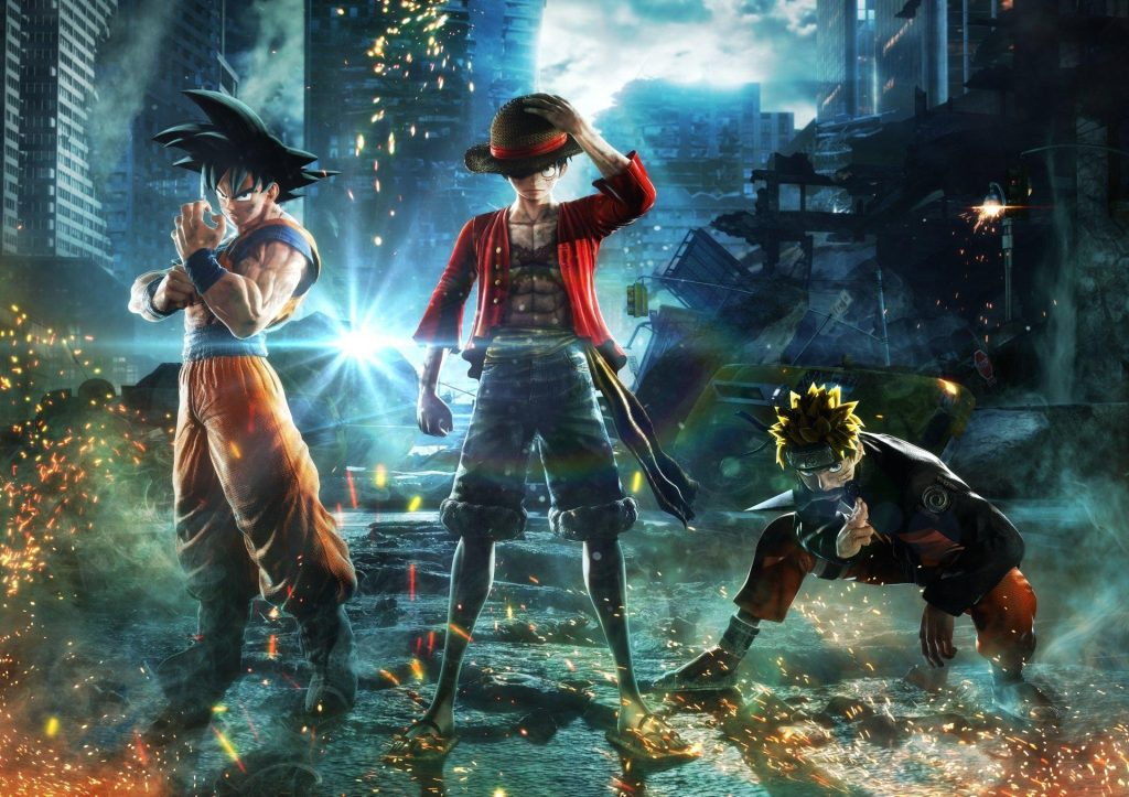 Jump-Force-Characters