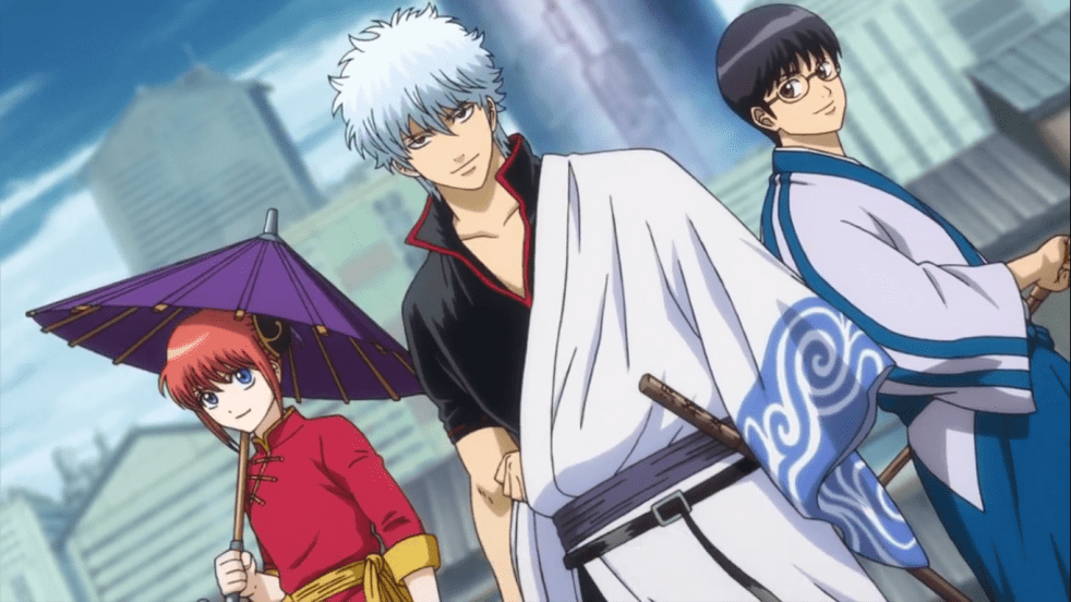 best anime of all time Gintama