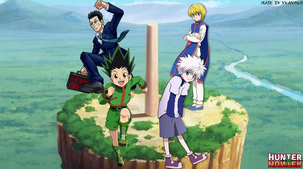 top 10 best anime on netflix Hunterxhunter