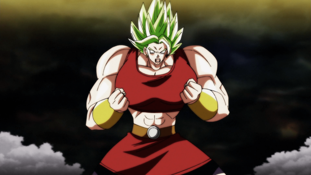 Kale The Most Muscular Anime Female Character From Dragon Ball Series