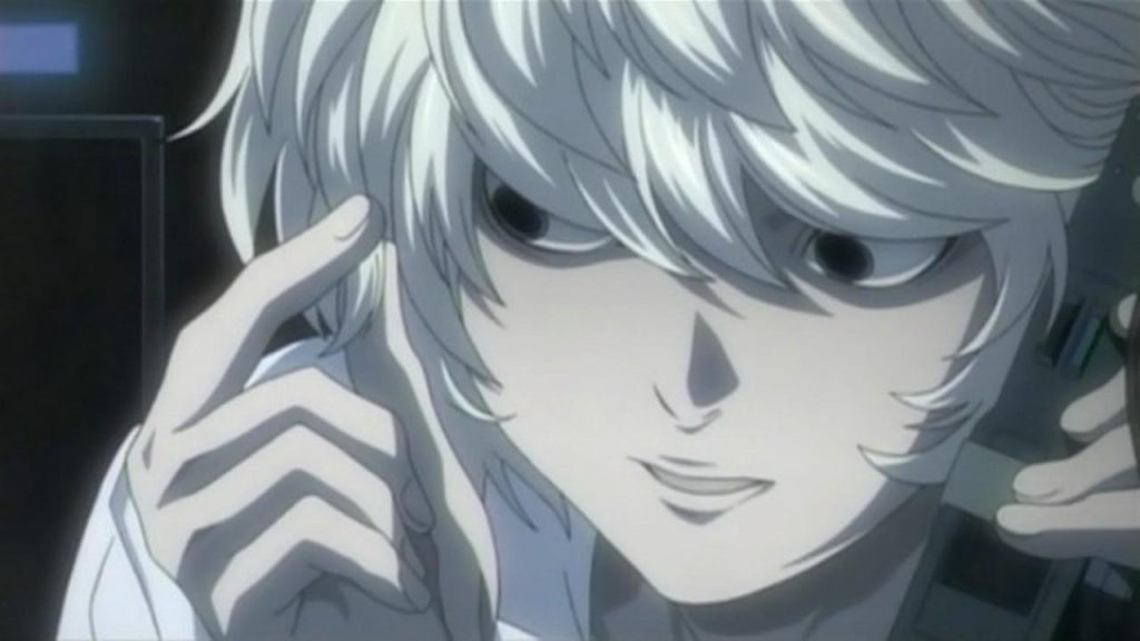 Near in the list of anime boy with white hair