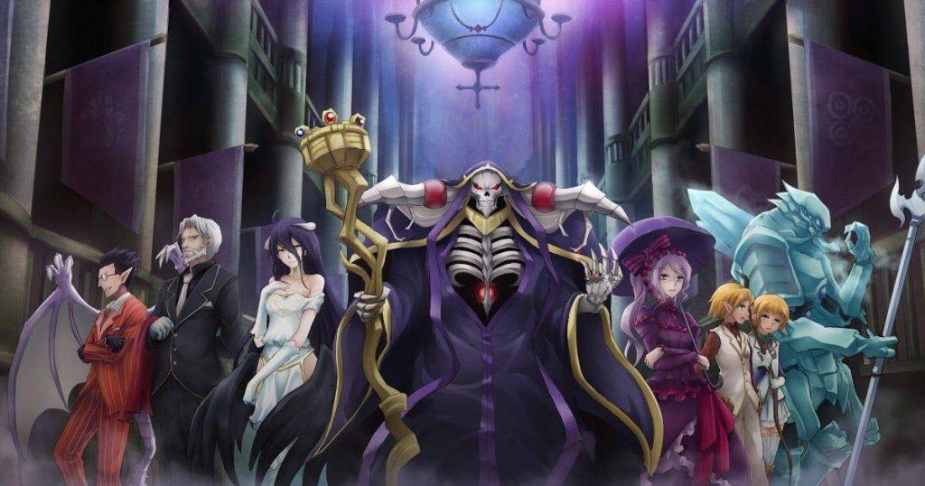 Overlord top isekai anime on myanimelist