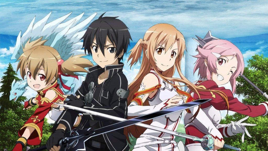 Best Isekai Harem Anime With OP MC Sword Art Online