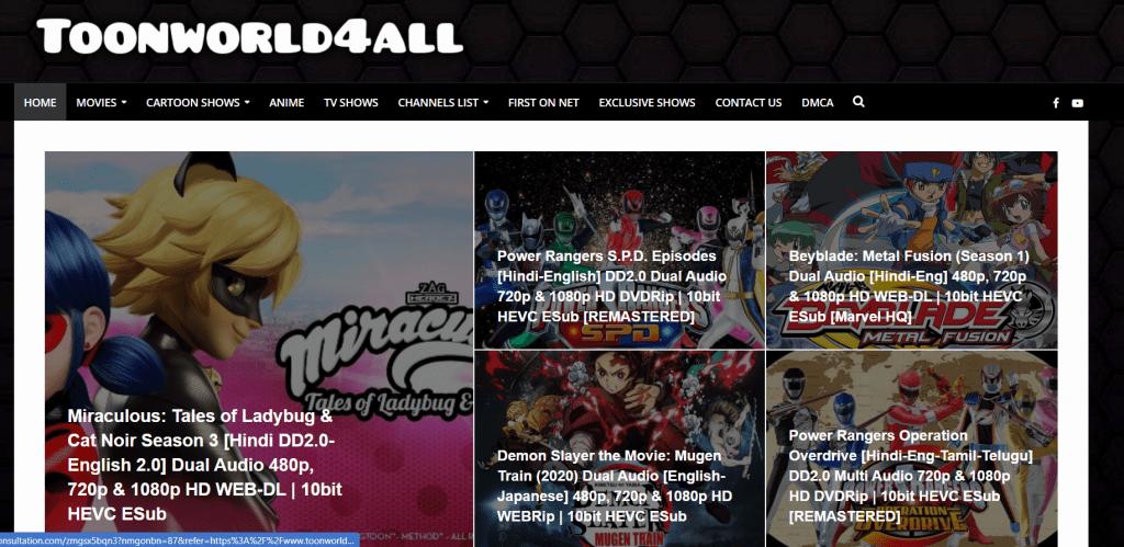 ToonWorld4All HD Anime in Hindi