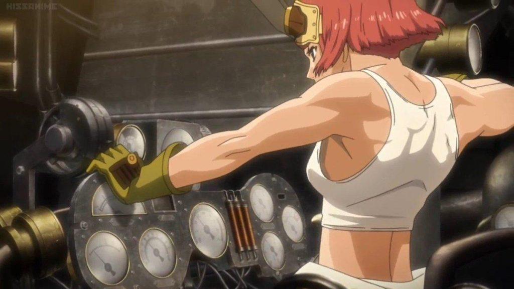Yukina Anime girl body base From Kabaneri Of The Iron Fortress