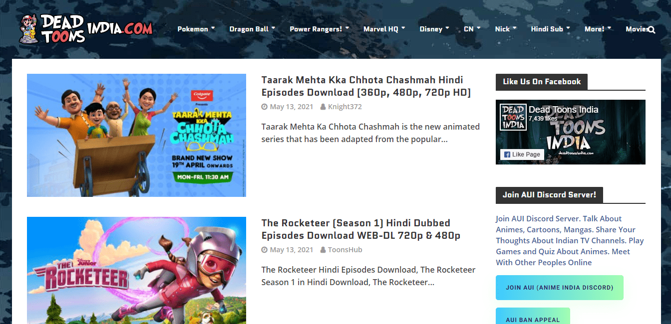deadtoonsindia-hindi-cartoon-download