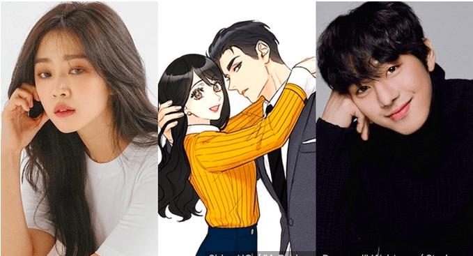 Kim Sejeong and Ahn Hyo Seop